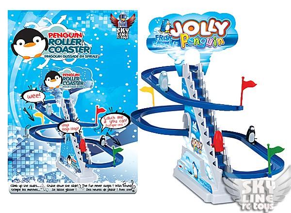 penguin-rollercoaster