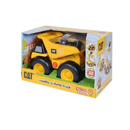 Classic Yellow Dump Truck, Switch Adapted