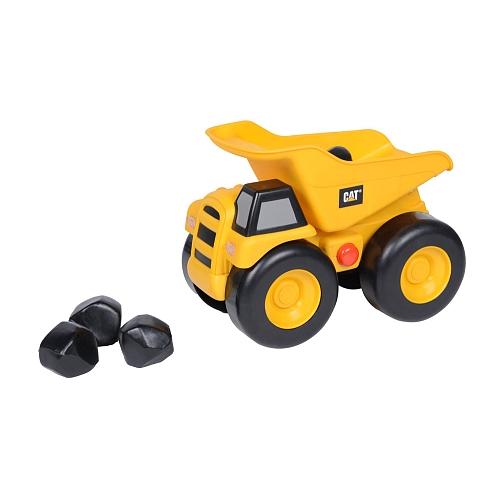 Classic Yellow Dump Truck