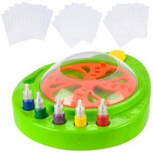Switch Adapted Spin Art Paint Spinner